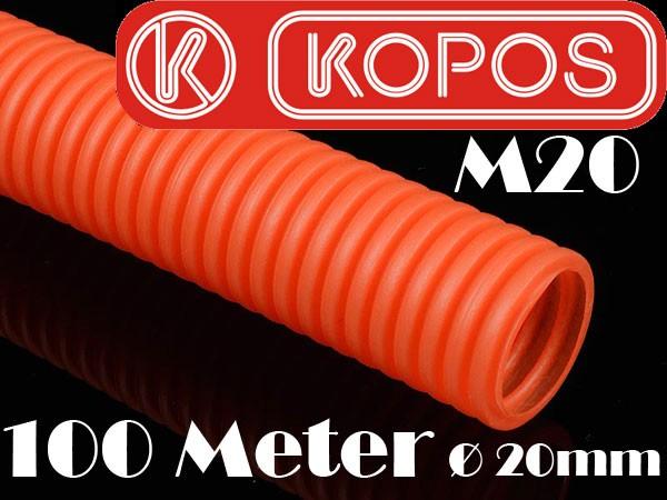 100m m20 20mm wellrohr orange flexibel leerrohr kabelschutzrohr kabelrohr neu ebay. Black Bedroom Furniture Sets. Home Design Ideas