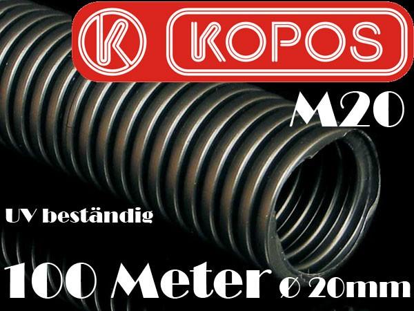 100m 20mm wellrohr leerrohr flexibel uv best ndig mit zugdraht kabel schutz rohr ebay. Black Bedroom Furniture Sets. Home Design Ideas