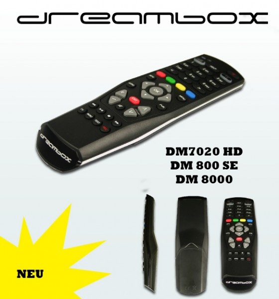 Dreambox iDream Fernbedienung Dreambox 7020 HD RC10