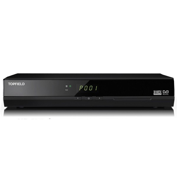 topfield tf t5000hdpvr hdtv twin dvb t receiver mit 320gb. Black Bedroom Furniture Sets. Home Design Ideas