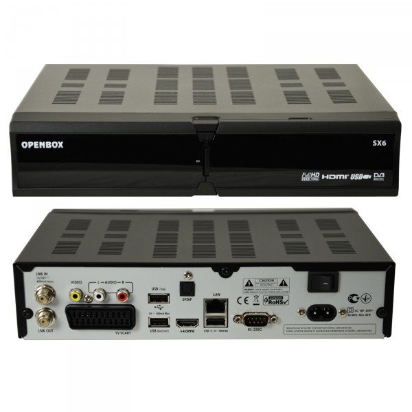 sat receiver openbox sx6 digital linux hd 4xusb ci. Black Bedroom Furniture Sets. Home Design Ideas