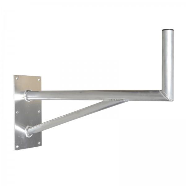 wandhalter wandhalterung mit st tze alu 60cm f r sat spiegel sch ssel profi hq ebay. Black Bedroom Furniture Sets. Home Design Ideas