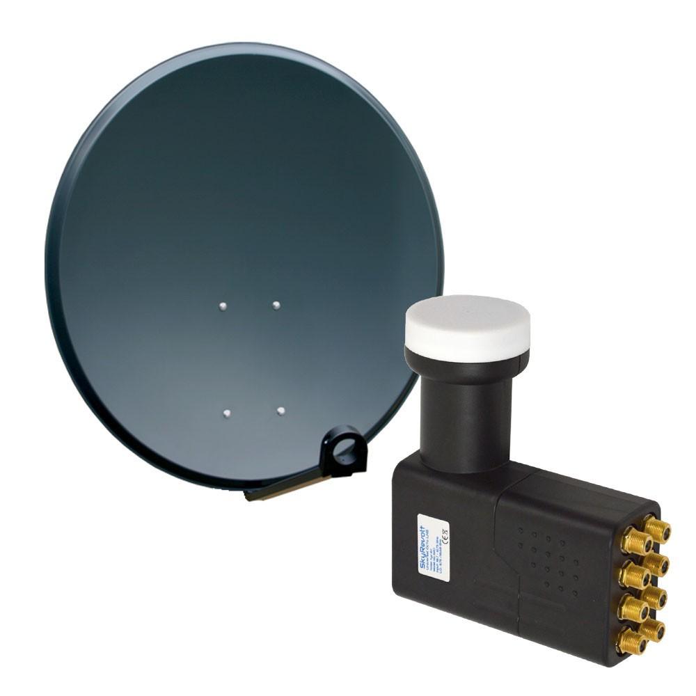 sat antenne 100 cm sch ssel spiegel astra hotbird sirius lnb octo 0 1 db hdtv 4k ebay. Black Bedroom Furniture Sets. Home Design Ideas