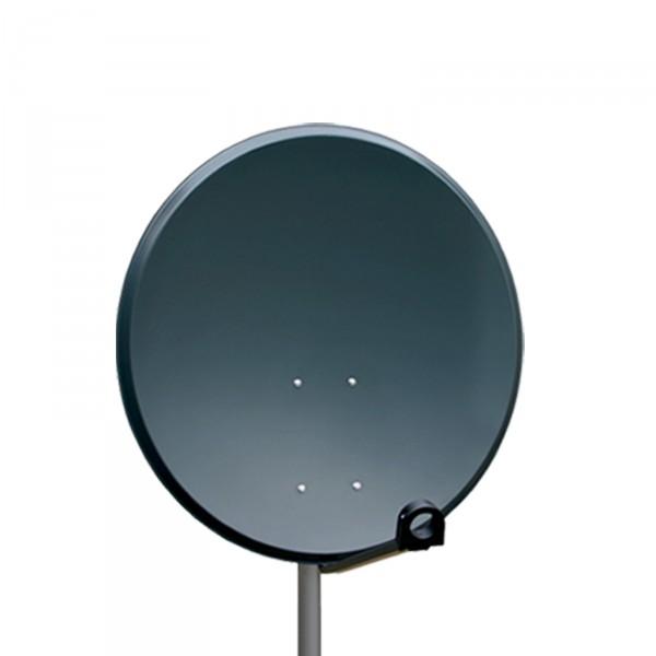 opticum sch ssel sat spiegel antenne 100cm anthrazit hdtv. Black Bedroom Furniture Sets. Home Design Ideas