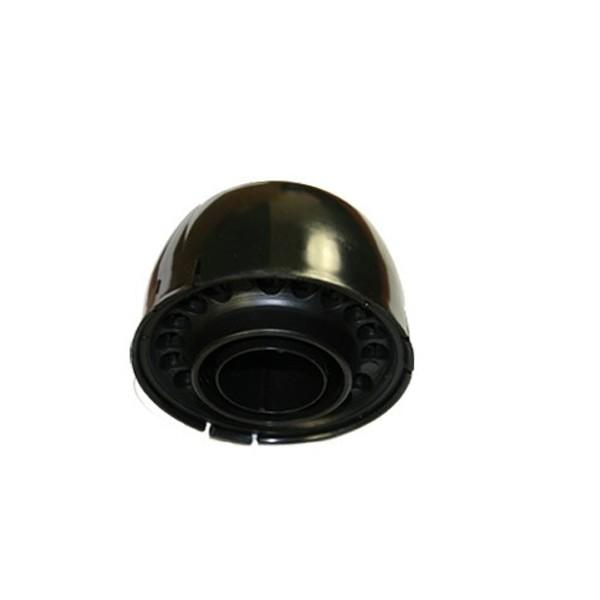 mastkappe mit kabeleinf hrung in schwarz 42 50mm uv best ndig mast kappe kabel durchf hrung. Black Bedroom Furniture Sets. Home Design Ideas