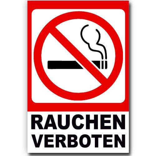 hinweis schild rauchen verboten alu verbund platte verbotsschild warnung 20x30cm ebay. Black Bedroom Furniture Sets. Home Design Ideas