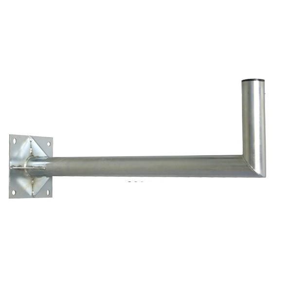 wandhalterung 60cm mit verstebung 60mm f r sat sch ssel antenne wandhalter 80 ebay. Black Bedroom Furniture Sets. Home Design Ideas