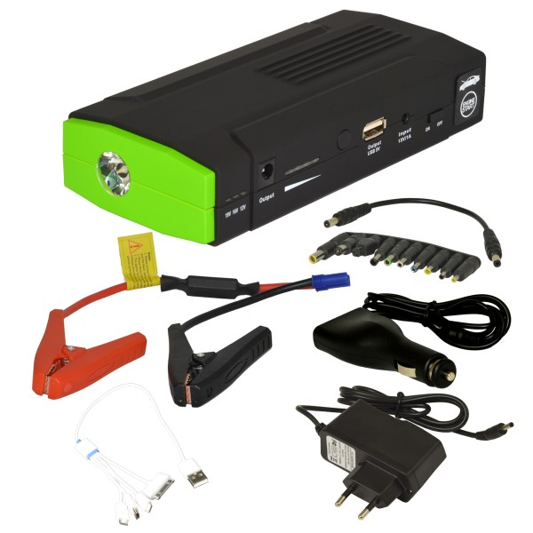 5in1 auto starthilfe jump car starter 13600mah batterie. Black Bedroom Furniture Sets. Home Design Ideas